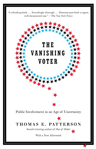9780375713798: The Vanishing Voter: Public Involvement in an Age of Uncertainty