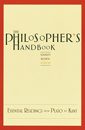 9780375720116: The Philosopher's Handbook: Essential Readings from Plato to Kant
