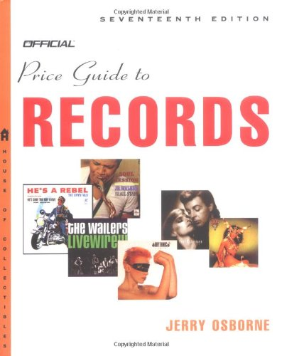 The Official Price Guide to Records, Edition: Osborne, Jerry