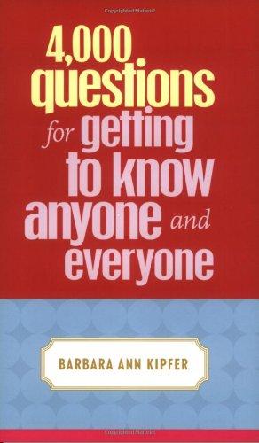 9780375720819: 4,000 Questions