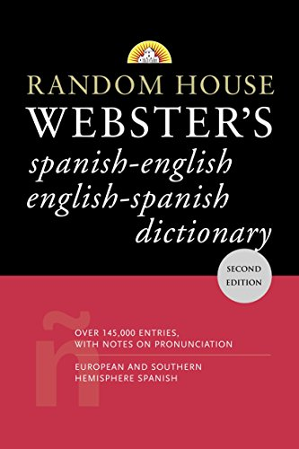 9780375721960: Random House Webster's Dictionary: Spanish-english English-spanish