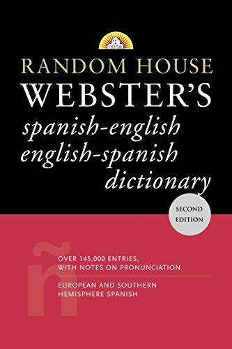 9780375721960: Random House Webster's Spanish-English English-Spanish Dictionary: Second Edition