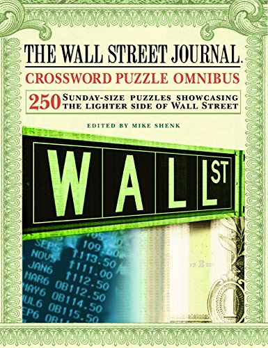 The Wall Street Journal Crossword Puzzle Omnibus: Shenk, Mike