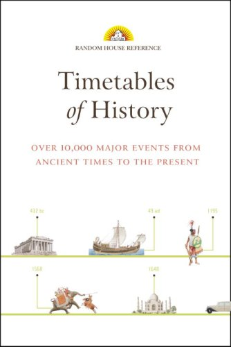 9780375722264: Timetables of History: Over 10,000 Major Events from Ancient Times to the Present