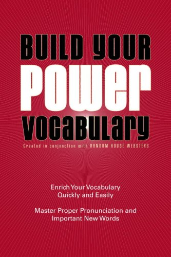 9780375722745: Build Your Power Vocabulary, Second Edition