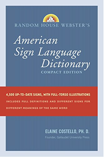 9780375722776: Random House Webster's Compact American Sign Language Dictionary