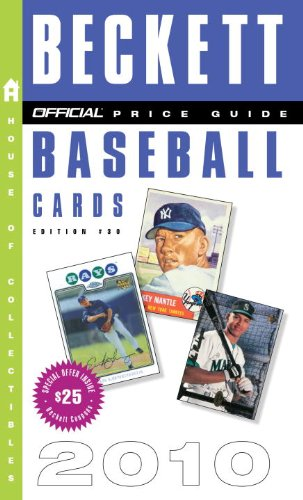 beckett baseball card price guide 38th edition