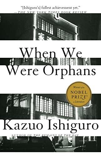 9780375724404: When We Were Orphans (Vintage International)