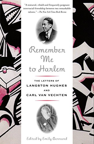 9780375727078: Remember Me to Harlem: The Letters of Langston Hughes and Carl Van Vechten