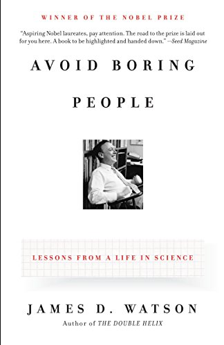 9780375727146: Avoid Boring People: Lessons from a Life in Science