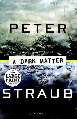 9780375728389: A Dark Matter (Random House Large Print)