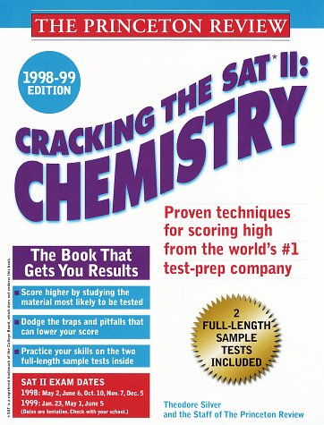 9780375751028: Cracking the SAT II Chemistry 1998-99 Edition (Annual)
