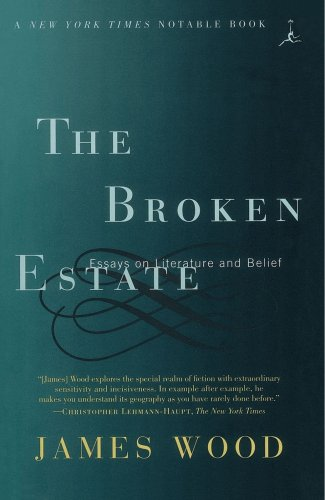 9780375752636: The Broken Estate: Essays on Literature and Belief