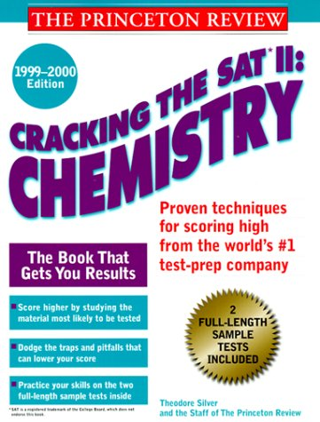 9780375752988: Cracking the SAT II, Chemistry (SAT II Guides)