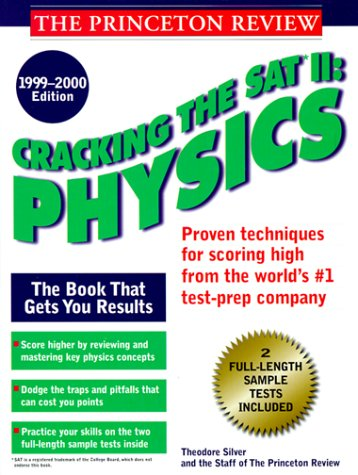 9780375753022: Cracking the SAT II: Physics, 1999-2000 Edition