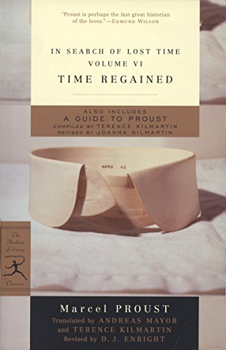 9780375753121: In Search of Lost Time: Time Regained v. 6 (Modern Library)