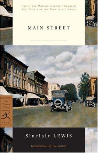 Main Street (Modern Library): Sinclair Lewis