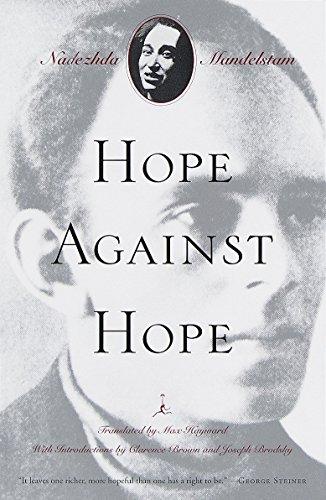 9780375753169: Hope Against Hope: A Memoir