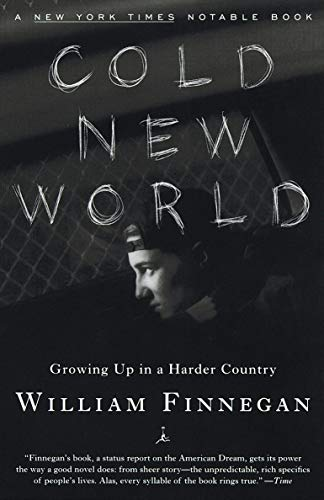 a brief summary of cold new world a novel by william finnegan