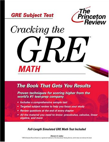 9780375753992: Cracking the Gre Math: Subject Test
