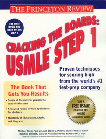 9780375754715: Cracking the Boards: Usmle Step 1 (Princeton Review Series)