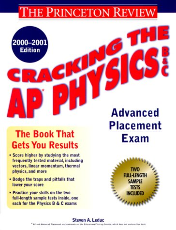 9780375754920: Cracking the AP Physics, 2000-2001 Edition