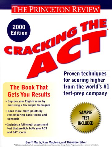 9780375755002: Cracking the ACT, 2000 Edition