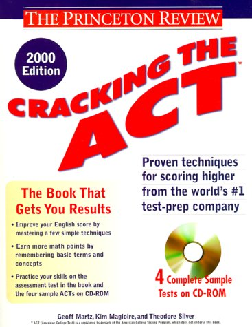9780375755019: Cracking the ACT with CD-ROM, 2000 Edition (Princeton Review)