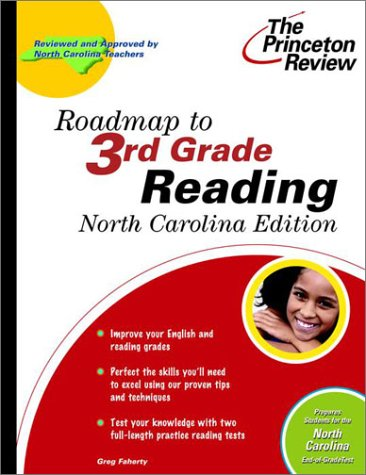 9780375755774: Roadmap to 3rd Grade Reading, North Carolina Edition (State Test Prep Guides)