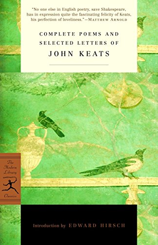 9780375756696: Complete Poems and Selected Letters of John Keats
