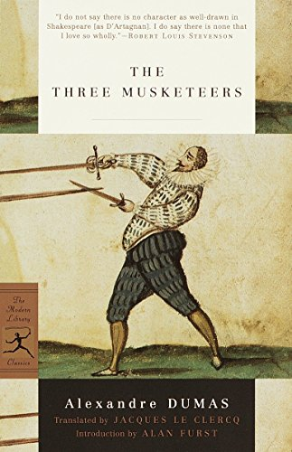 9780375756740: Three Musketeers (Modern Library Classics): 1