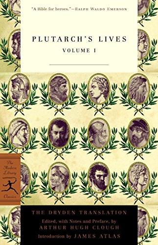 9780375756764: Plutarch's Lives Volume 1 (Modern Library Classics)