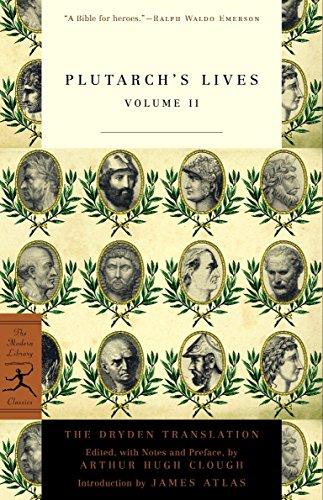 Plutarch's Lives: v. 2 (Modern Library): Plutarch