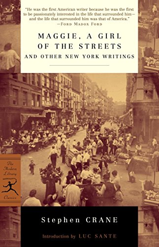9780375756894: Maggie, a Girl of the Streets and Other New York Writings (Modern Library Classics)