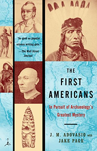 9780375757044: The First Americans: In Pursuit of Archaeology's Greatest Mystery (Modern Library Paperbacks)