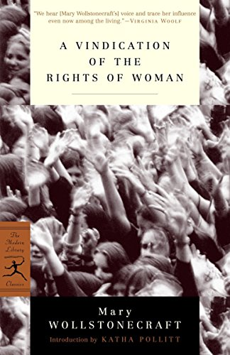 9780375757228: Mod Lib Vindication Of The Rights Of Woman (Modern Library)