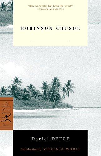 9780375757327: Robinson Crusoe (Modern Library Classics)