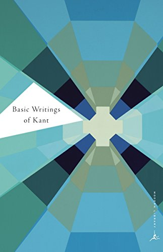 9780375757334: Basic Writings of Kant (Modern Library Classics)
