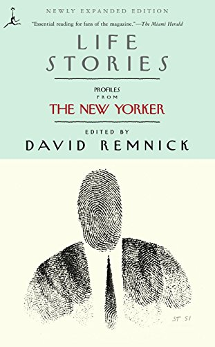 9780375757518: Life Stories: Profiles from The New Yorker (Modern Library Paperbacks)