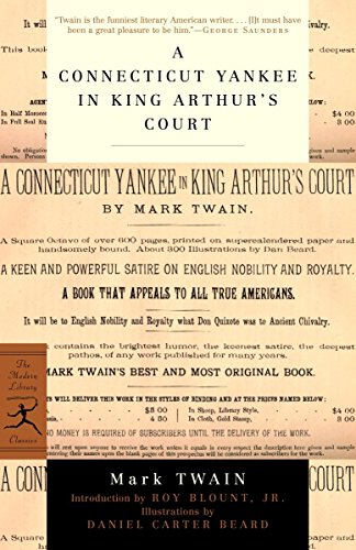9780375757808: A Connecticut Yankee in King Arthur's Court (Modern Library Classics)