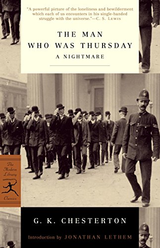 9780375757914: Mod Lib Man Who Was Thursday: A Nightmare (Modern Library)