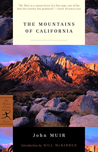 9780375758195: The Mountains of California (Modern Library)