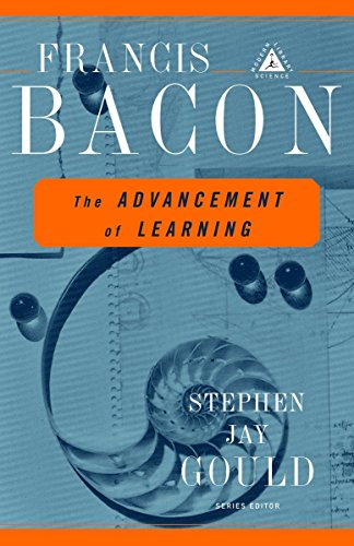 9780375758461: The Advancement of Learning (Modern Library Science)