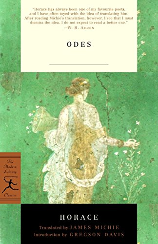9780375759024: Odes: With the Latin Text (Modern Library Classics)