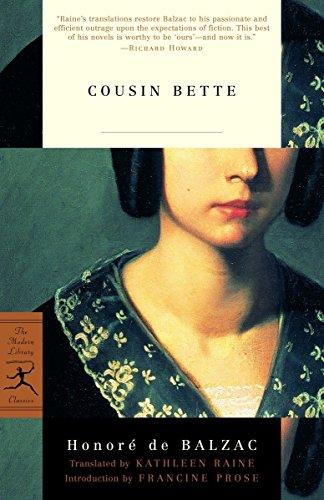 9780375759079: Cousin Bette (Modern Library)