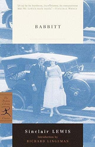 Babbitt (Modern Library): Sinclair Lewis