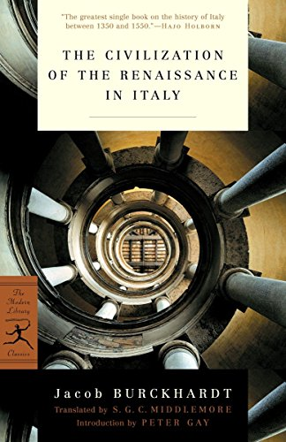 9780375759260: The Civilization of the Renaissance in Italy (Modern Library)