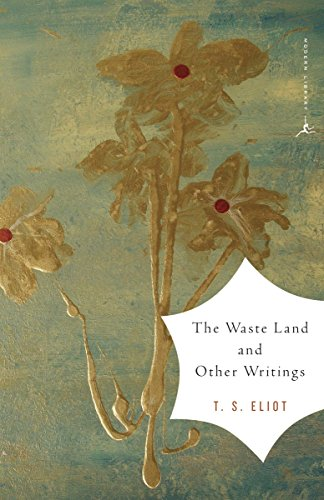 9780375759345: The Waste Land and Other Writings (Modern Library)