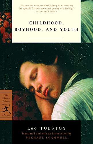 9780375759444: Childhood, Boyhood and Youth (Modern Library)