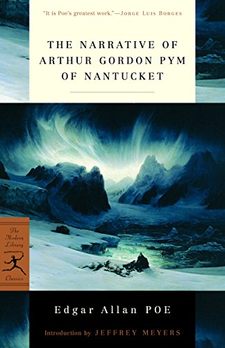 9780375760075: Narrative of Arthur Gordon Pym of Nantucket (Modern Library)